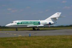 Falcão 20C de Dassault do ar de Elbe imagem de stock royalty free