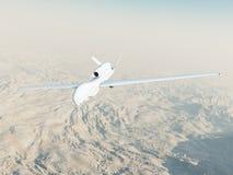 Falcão global de RQ-4A no vôo Imagens de Stock