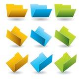 falcówek ikony szablon Obrazy Stock