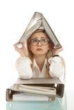 falcówki biznesowa kobieta Zdjęcie Stock