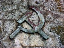 Falce e martello Fotografie Stock Libere da Diritti