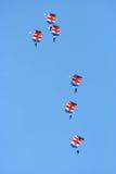 Falchi di RAF Immagini Stock