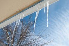 Falci del ghiaccio Fotografie Stock