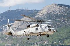Falco del nero di Sikorsky UH60 Immagini Stock