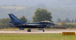 Falco di combattimento del F-16 della General Dynamics fotografie stock