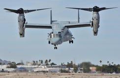 Falco pescatore di Marine Corps MV-22 immagini stock libere da diritti