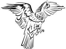Falcon stock illustration