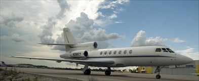 Falcon 50-11 Royalty Free Stock Images