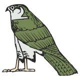 Falcon, ancient Egyptian symbol Stock Photography