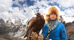 Falcon hunter Stock Photography