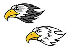 Falcon mascot Stock Photo