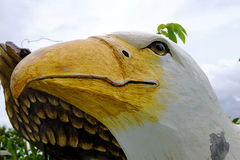 Falcon statue royalty free stock photos