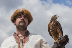 falconer Stockbild