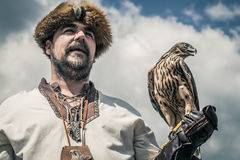 falconer Royaltyfri Foto
