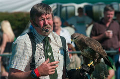 Falconer at Westmorland Show Royalty Free Stock Images