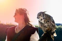 falconry fotografía de archivo