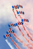 Falcons Parachute Display Team Stock Photo