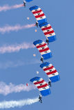 Falcons Parachute Display Team Stock Images