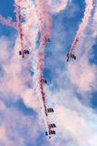 Falcons Parachute Display Team Stock Photography
