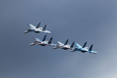 The Falcons Of Russia Royalty Free Stock Image