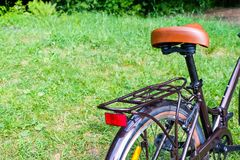Falcowanie kobiet ` s chodzący rower obrazy royalty free