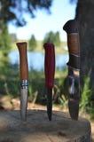 Falcowanie nóż 3 obrazy stock