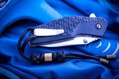 Falcowanie nóż kieszeń zdjęcia royalty free
