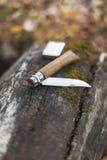 Falcowanie nóż na beli fotografia royalty free