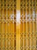 Falcowanie stali drzwi zdjęcia royalty free