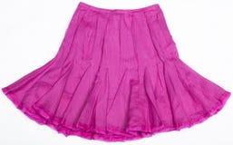 Falda de las mujeres rosadas Imagen de archivo libre de regalías