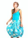 Falda femenina del verano imágenes de archivo libres de regalías
