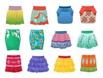 Faldas cortas del verano Fotos de archivo libres de regalías