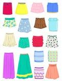 Faldas del verano Foto de archivo libre de regalías
