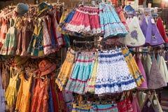 Faldas divertidas de Colotful Foto de archivo libre de regalías