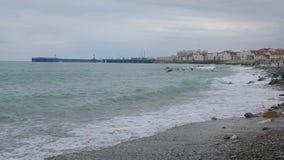 Fale Czarny morze 004 zbiory wideo
