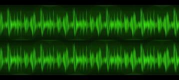fale dźwiękowe Obraz Royalty Free