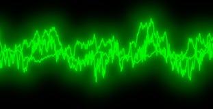 fale dźwięku Zdjęcie Stock