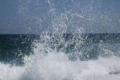 fale oceanu Obrazy Stock