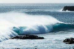 fale oceanu Zdjęcia Stock