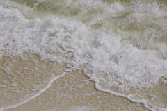 fale oceanu plażowych fotografia stock