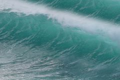 fale oceanu się fala pierwszoplanowe fotografia royalty free