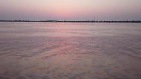 FALE plaża W wieczór zbiory wideo