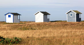 Fales in dunes of Falsterbo near Swedish Hovbacken royalty free stock photography