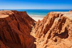 Falesia beach Royalty Free Stock Photo