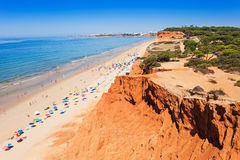 Falesia beach Royalty Free Stock Images
