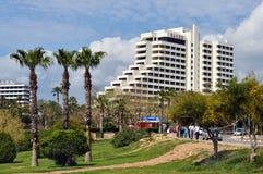 Falez旅馆在安塔利亚,土耳其 库存图片