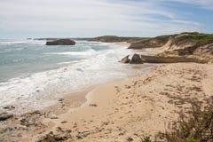 Falez formacje, Wielka ocean droga, Wiktoria, Australia Obraz Stock