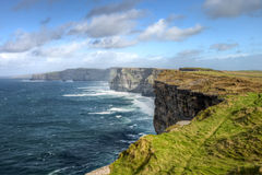 falez Ireland moher Obrazy Stock