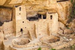 Falez mieszkania w mesy Verde parkach narodowych, CO, usa Obraz Royalty Free