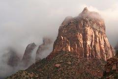 falez park narodowy zion Obraz Royalty Free